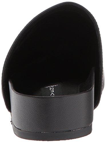 Mule Leather Steve Madden Varner Black Women's 0qw67Ta