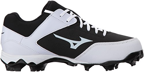 Advanced Mizuno 3 Fastpitch Shoe Cleat 9 Women's White Spike MIZD9 Finch Elite Softball Black q060wI