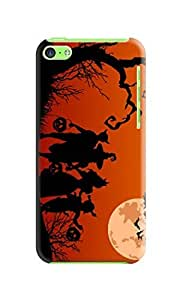 Durable Phone Protection Case/cover fashionable TPU New Style Halloween Designed for iphone 5c by mcsharks