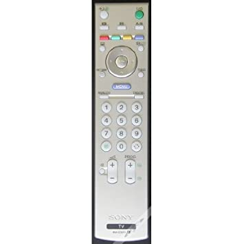 sony tv remote control replacement. original genuine new sony tv remote control - rm-ed005 sony tv remote control replacement