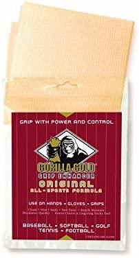 Gorilla Gold Grip Enhancer Cinta Potenciador de agarre Tenis Padel Golf Badminton Deportes