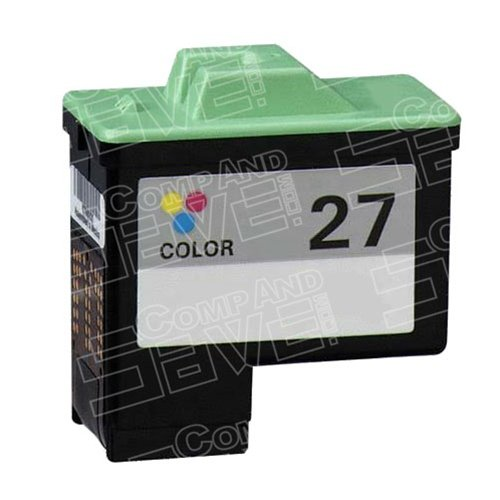 ent for Lexmark 10N0227 (#27) Color Ink Cartridge (10n0227 Ink)