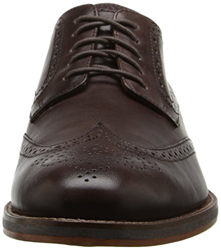 Cole Haan Hombres Madison Grand Wingtip Oxford Marrón Oscuro