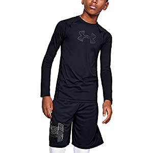 Best Epic Trends 41njnsG7wLL._SS300_ Under Armour Boys' HeatGear Armour Long Sleeve T-Shirt