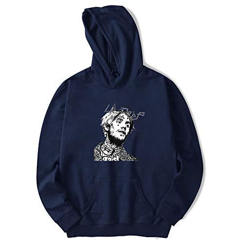 Sweatshirt Dark Lunga Stampa Cappuccio Felpe Casual Moda Bluse Con Cappuccio Donna Pullover Con Unisex peep BESTHOO Manica Blue Lil TqXpa