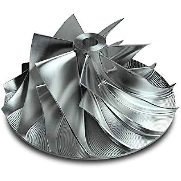 Amazon Com Dieselsite Billet Turbo Compressor Wicked Wheel 2 For 98 5 02 Dodge Cummins 5 9l Automotive