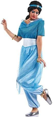 Disfraz de Princesa Jasmín Azul para mujer: Amazon.es: Ropa y ...