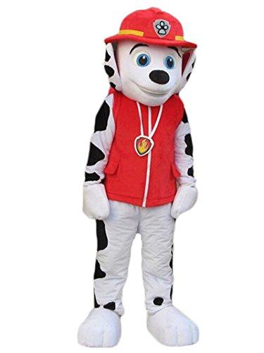 Paw Patrol Marshall Dog Dalmatian Mascot Costume -