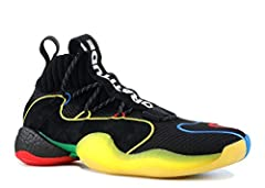 "The Pharrell Williams x adidas Crazy BYW LVL X Â""Gratitude + EmpathyÂ"" is another colorful sneaker creation from the pop culture icon and the Three Stripes. The Crazy BYW LVL X model is a sneaker inspired by the classic Feet You Wear basketba..."