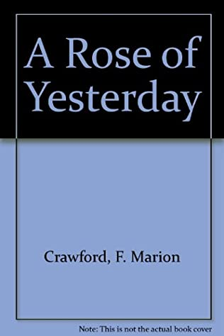 book cover of A Rose of Yesterday