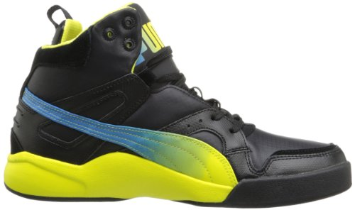 PUMA Mens FTR TRN Slipstream Lite Fluo Fashion Sneaker Black 6tLY9