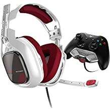 ASTRO Gaming Astro A40TR Headset + MixAmp M80 for Xb1 (White) - Xbox One (Renewed)