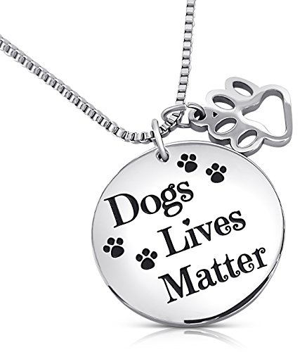 Animal Rescue Jewelry - Dog Lives Matter