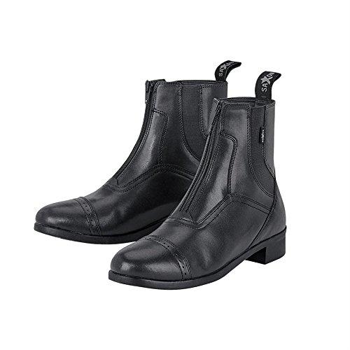 Saxon Ladies Syntovia Zip Paddock Boot 9 Black