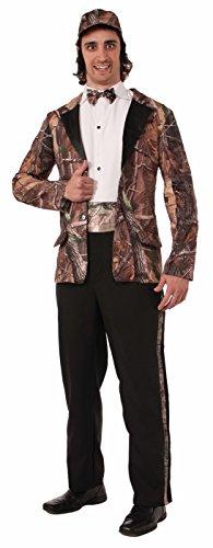 Forum Novelties Men's Huntin' For Love Groom Costume, Camouflage, One Size