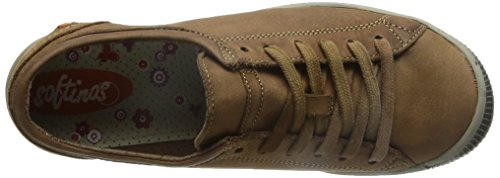 Softinos Isla Dames Derby Lace Up Brogues Bruin (bruin 524)