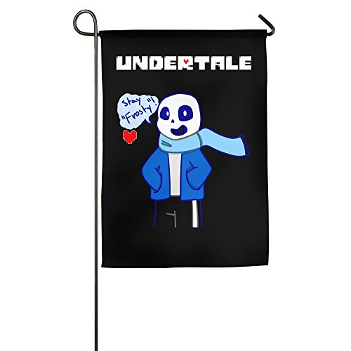 CEDAEI Undertale Role-playing Video Game Logo Family Garden House Home Demonstration Game Flag 18*27inch
