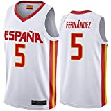K&Q Camiseta Sergio Llull Selección Española de Baloncesto Rojo ...