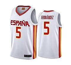 WOLFIRE WF Camiseta de España 2019 para Hombre, Mundial de China ...