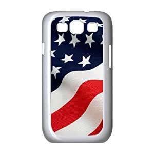 Custom Colorful Case for Samsung Galaxy S3 I9300, American Flag Cover Case - HL-R643010