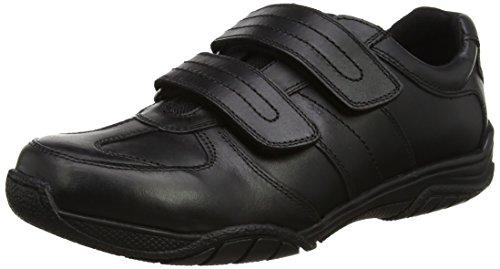 Terme Herren Chivers Deux Baskets Velcro Schwarz (noir Noir)