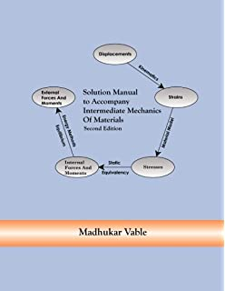 Amazon intermediate mechanics of materials solid mechanics and solution manual to accompany intermediate mechanics of materials fandeluxe Images