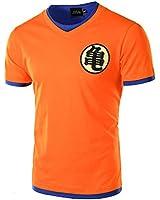JOGAL Men's Dragon Ball Z Short Sleeve T Shirts Anime Comic Cosplay Tee Shirt