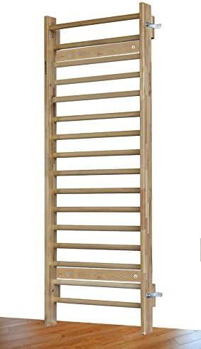 ARTIMEX Scoliosis Stall Bars (Escalera Sueca) – Herramienta de Terapia física y Gimnasia – Barras de Pared de Madera de Haya, código 221-F-2-REHA: Amazon.es: Deportes y aire libre