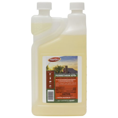 Control Solutions 82004505 Termite Martins Permethrin 10% (32 oz Bottle) - Neem Healing Treatment