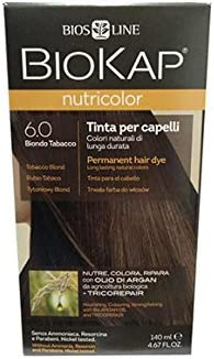 Tinte / 6.0 rubio tabaco / BioKap Nutricolor
