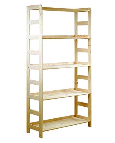 Holz bücherregal  Regal Büroregal Bücherregal R-10 Holz: Amazon.de: Küche & Haushalt