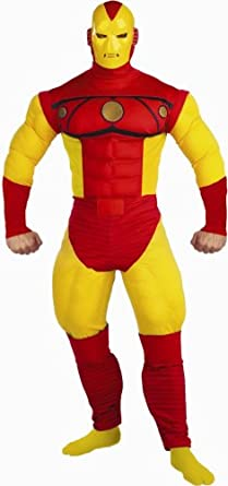 Amazon.com Iron Man Muscle Adult Costume Size Standard [Apparel] Clothing  sc 1 st  Amazon.com & Amazon.com: Iron Man Muscle Adult Costume Size Standard [Apparel ...