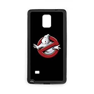 Eastar Note 4 Case, Ghostbusters Logo Protective Hard Cover for SamSung Galaxy Note4