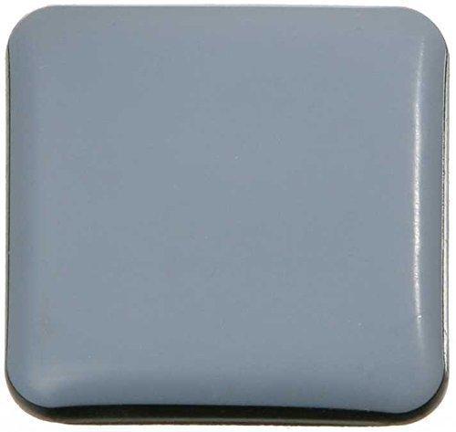 SBS ® Almohadillas para muebles 16-piezas Teflon autoadhesiva 25x25 mm PTFE Brillo Laflon Super delta SBS®