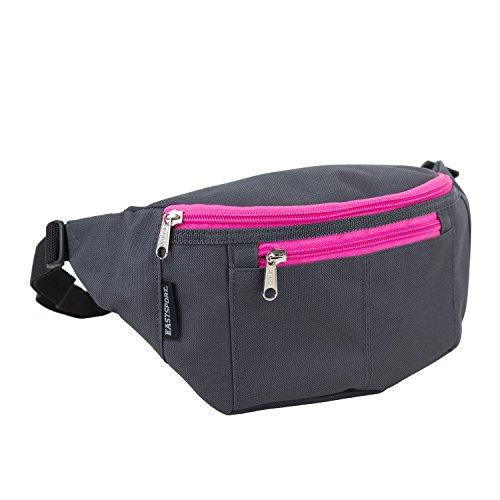 eastsport-belt-bag-gray