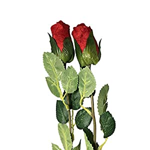 Regent Set of 2 Artificial Rose Flowers 60
