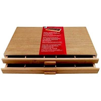 Art Alternatives Wood Pastel Box 2-drawer