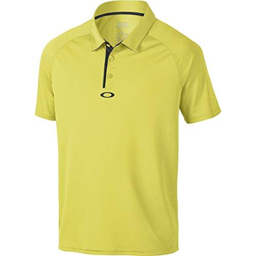 Oakley Men's Standard Elemental 2.0 Polo, Laser, - Oakleys Yellow