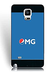 Vintage Samsung Galaxy Note 4 Case Pepsi Logo, Samsung Galaxy Note 4 Case for Man TPU