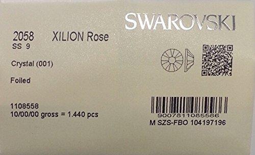 9ss Crystal Clear 1440 Swarovski Flatback Rhinestones Wholesale Full Pack