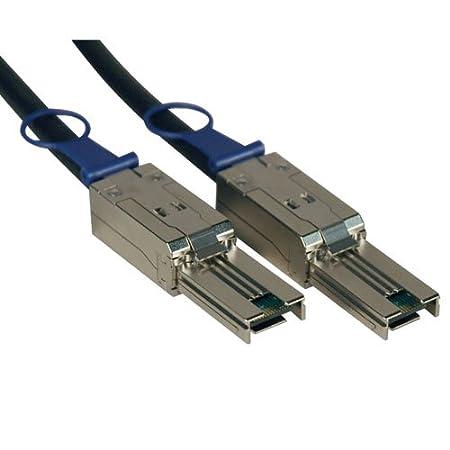 Tripp Lite External SAS Cable, 4 Lane - mini-SAS (SFF-8088) to mini-SAS (SFF-8088), 1 m (S524-01M)