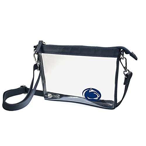 Clear Small Crossbody - Pennsylvania State University Penn State Nittany Lions Clear Purse by Capri Designs