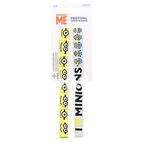 Despicable Me Minions and Character Double Festival Wristband Set]()