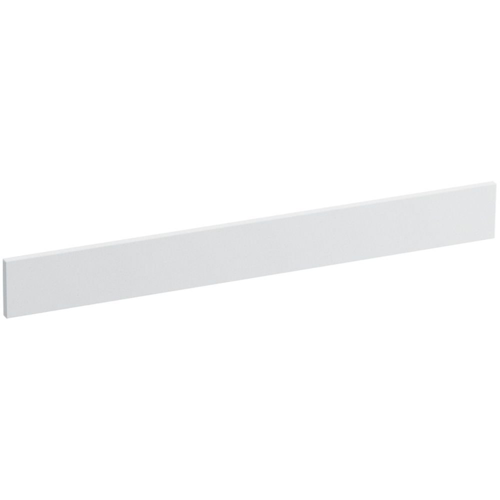 Solid/Expressions 31-Inch Backsplash Kit, White Impressions by Kohler