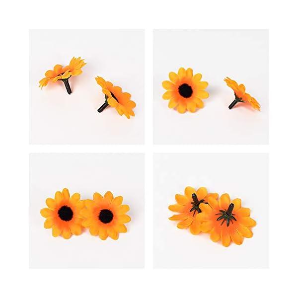 HZOnline-Artificial-Silk-Daisy-Flower-Heads-Fake-Fabric-Gerbera-Floral-Head-for-DIY-Easter-Eggs