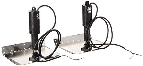 """Lenco 15113-101 Trim Tab Kit, 9"""" x 12"""" 12V, Standard Polished"""