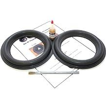 "Audioque 8"" Tall Roll Subwoofer Foam Surround Repair Kit - SD2 AudioQ AQ - 8 Inch"