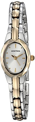 Armitron Women's 75/3313SVTT Two-Tone Dress (Dress Two Tone Wrist Watch)