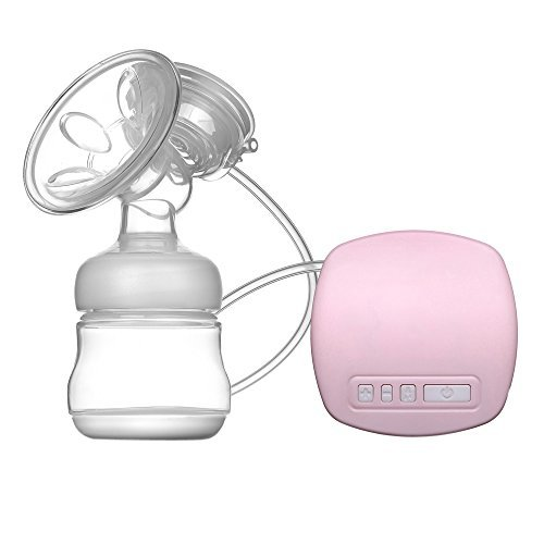 Anself Portable Single Electric Breast Pump Comfort BPA-Free Breast Reliever with USB Cable
