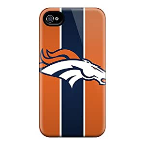 Anti-Scratch Cell-phone Hard Covers For Iphone 6 With Provide Private Custom Trendy Denver Broncos Series CharlesPoirier
